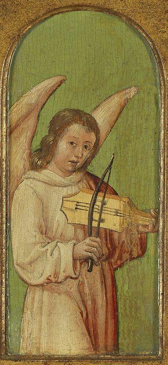15th Century Angel Painting 3 - David Dehner