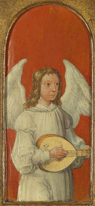 15th Century Angel Painting 1 - David Dehner