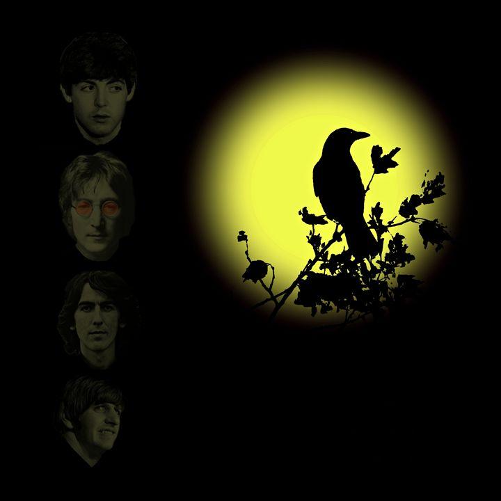 Blackbird Singing in the Dead Night - David Dehner