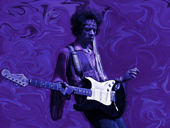 Jimi Hendrix Purple Haze - David Dehner