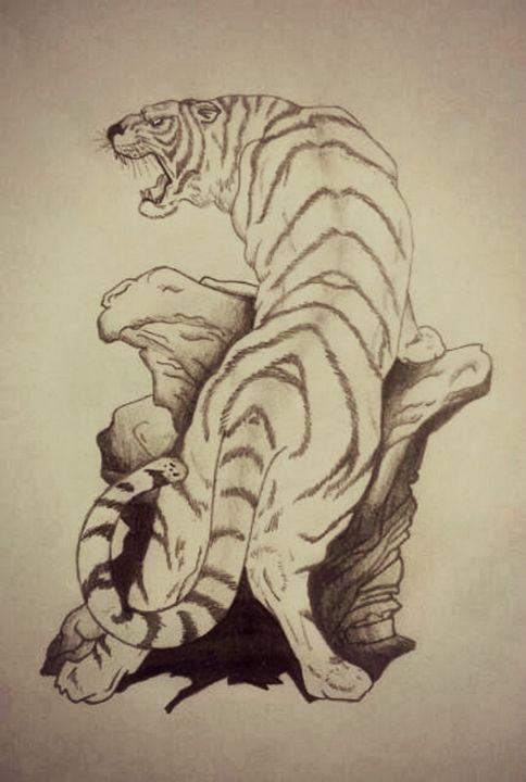 Tiger - Virgo Art