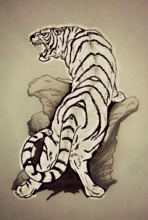 White Tiger - Virgo Art