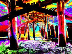 High Under the Pier