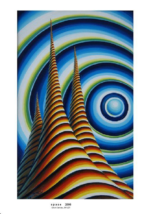 """Space"" - Petroff Gallery"