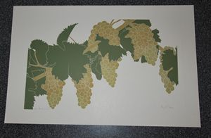 Henry Evans Moscato Grapes Print
