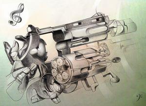 digital gun