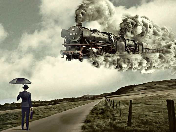 Le Train à vapeur - Mr STRANGE (JM GITARD)