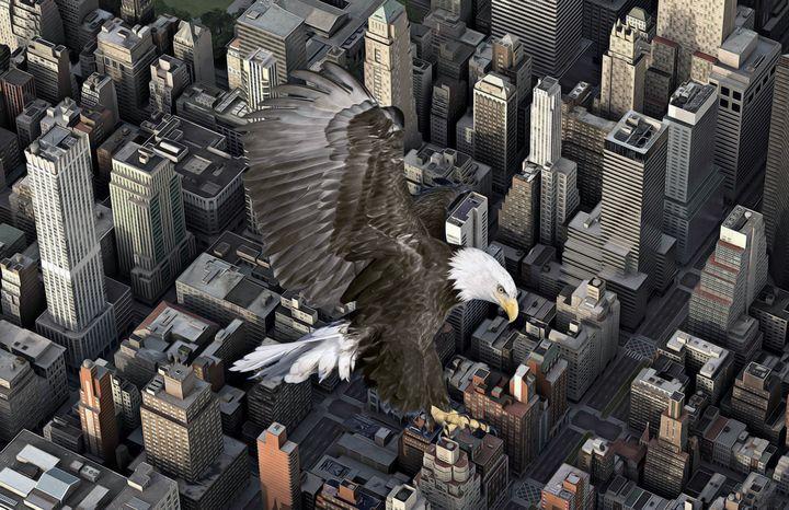 THE EAGLE PROTECTS - Mr STRANGE (JM GITARD)