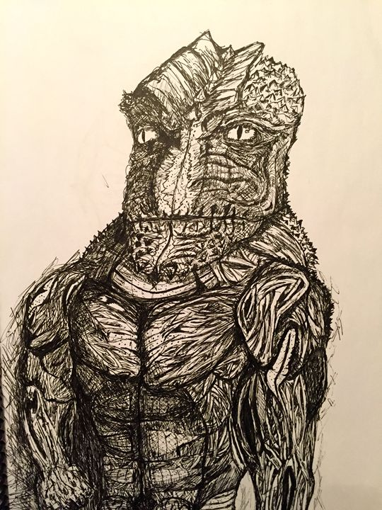 Reptilian Officer - Zak's Gallery
