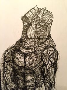 Reptilian Officer