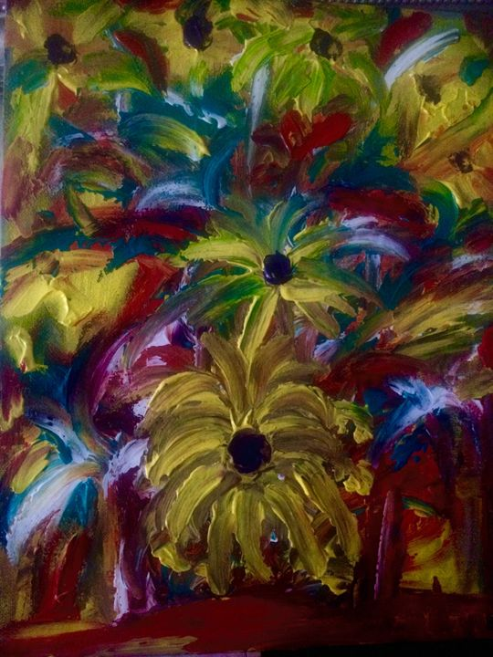 Flower Garden - Marilyn St-Pierre Artwork