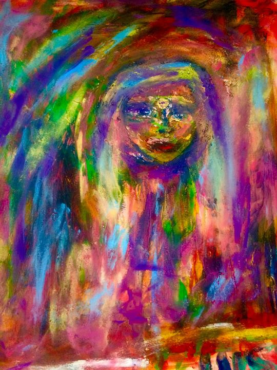 Feel My Healing Energy - Marilyn St-Pierre Artwork