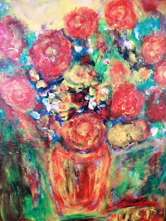 In Memory of 911 - Marilyn St-Pierre Artwork