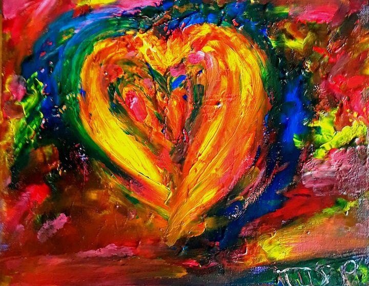 Heart of Gold - Marilyn St-Pierre Artwork