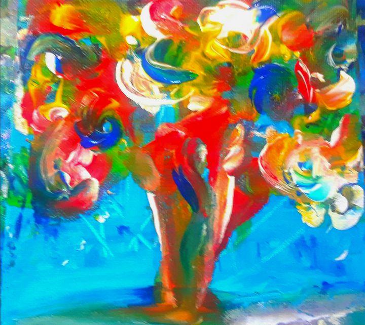 Special bouquet - Marilyn St-Pierre Artwork