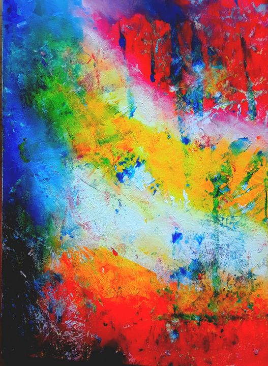 Abstract impressions - Marilyn St-Pierre Artwork