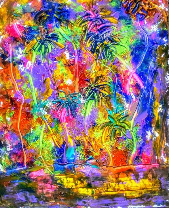 Dance Of the Palms - Marilyn St-Pierre Artwork