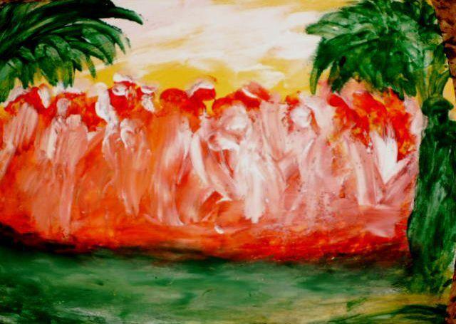 The Gathering - Marilyn St-Pierre Artwork