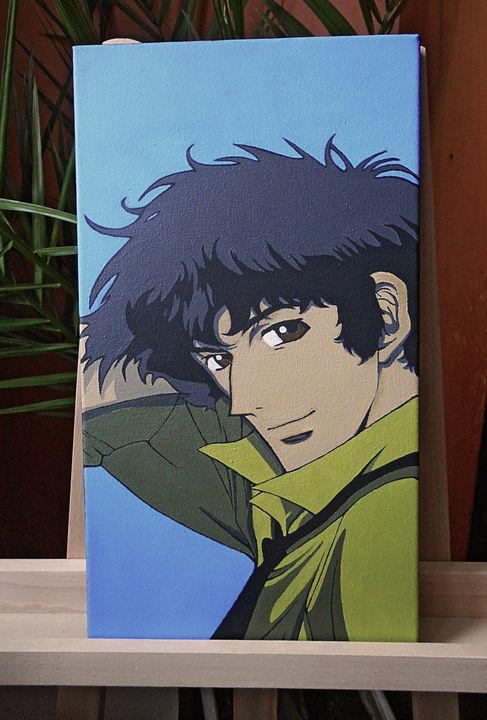Spike Spiegel Cowboy Bebop - My Art Dimension
