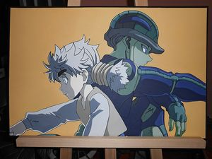 Meruem and Komugi from Hunter x Hunt