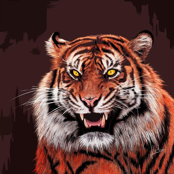Tiger - LevonArt