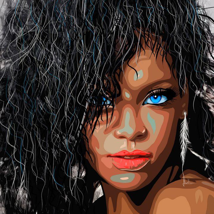 Rihanna - LevonArt