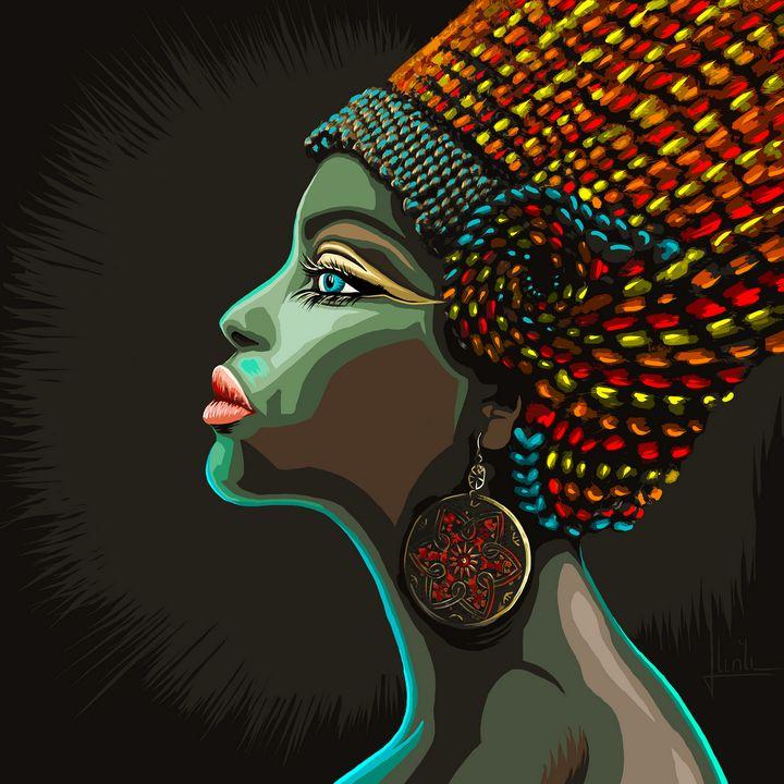 African Woman - LevonArt