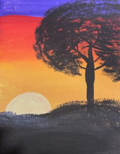 Sunset Dark Night - JoyTC Creations