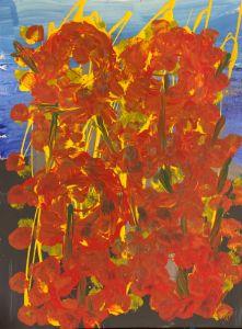 Flower Fiery - JoyTC Creations