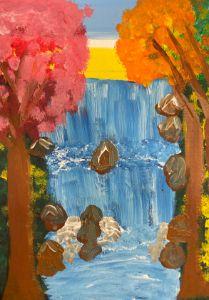 Rocky Waterfalls - JoyTC Creations