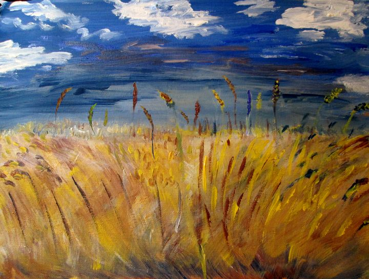 Wheat Field - Rafaella