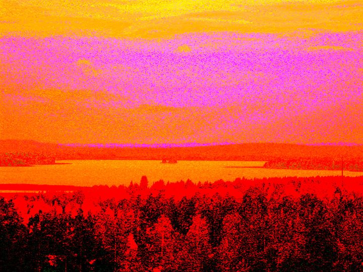 Sunset glow - paulihyvonen