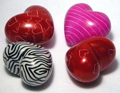 soapstone mini hearts -  Wilywalker2001