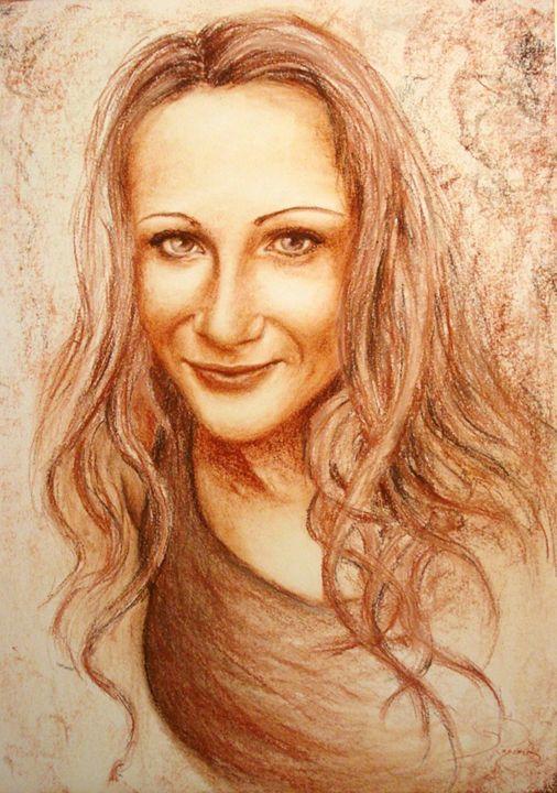 sanguine portrait, A2 - rogerioarte