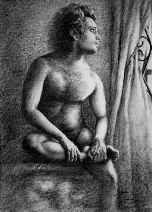 nude at window - rogerioarte