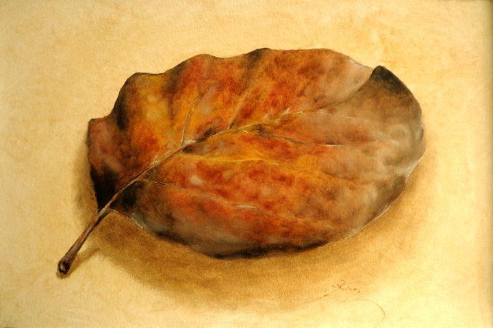 quince leaf, oil, A3 - rogerioarte
