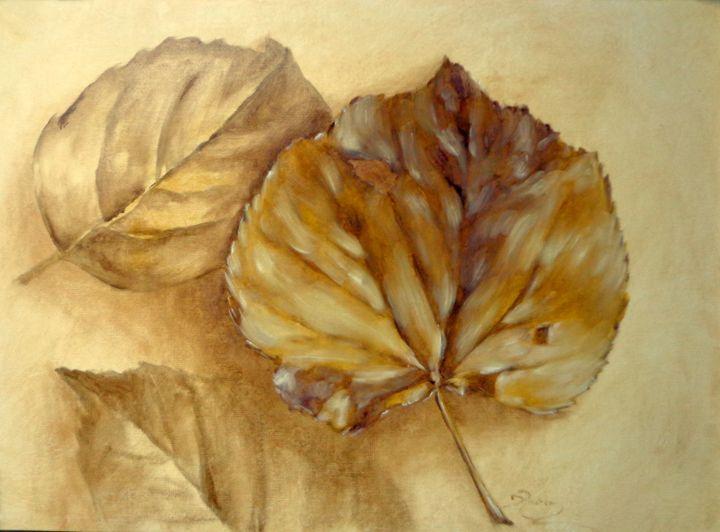 poplar leaves - rogerioarte