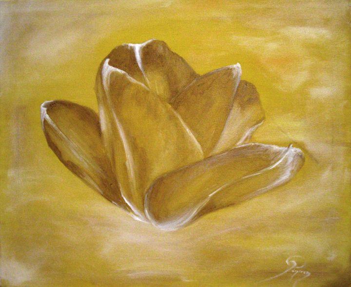 tulip, oil, B4 - rogerioarte