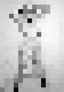 fetish nude, graphite, A4 - rogerioarte