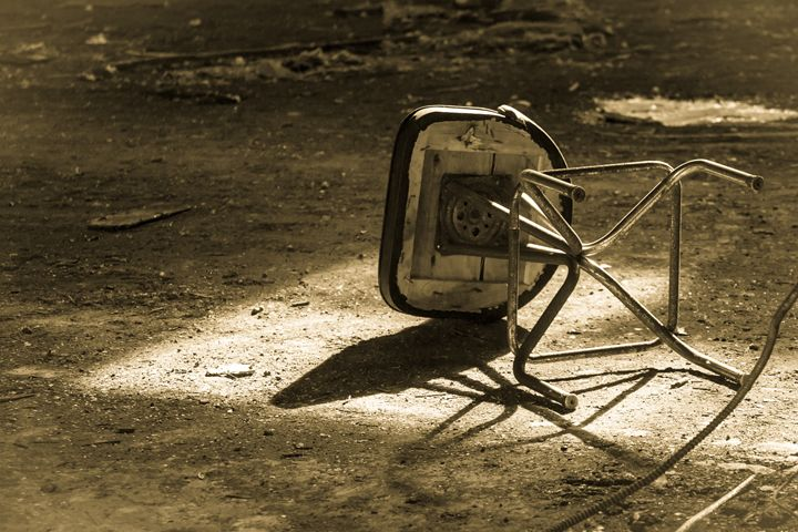 The abandoned chair - nick mares