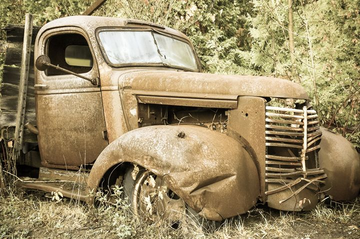 Rusty and crusty truck - nick mares
