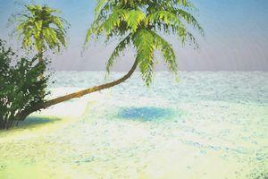 Tropical Dream Digitally Handpainted - Hunart Pixels