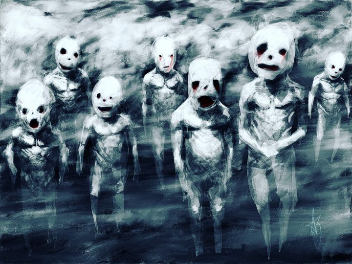 The Children in the Fog - ABCole Art