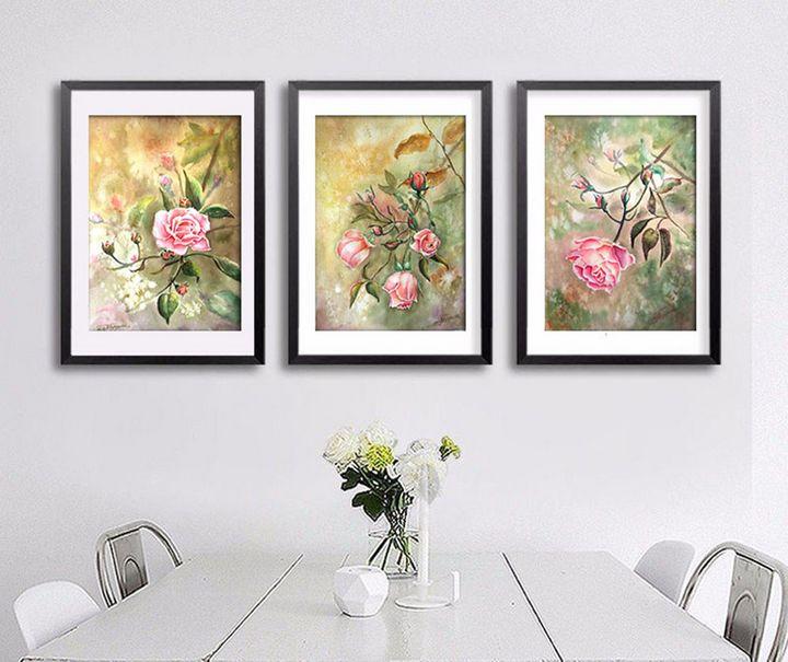 Roses - Nina Polunina