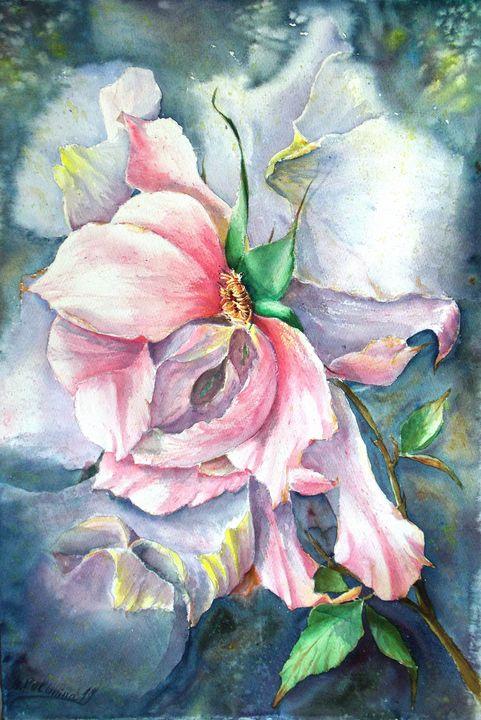 Autumn rose - Nina Polunina