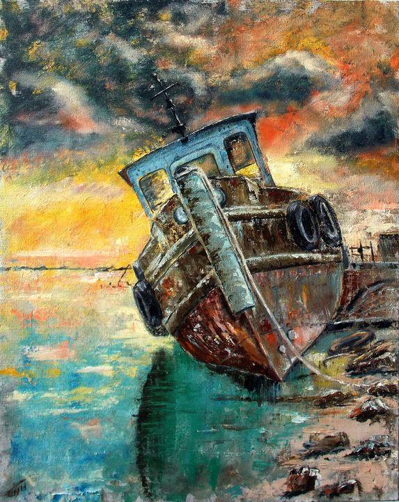 Old ship - Nina Polunina