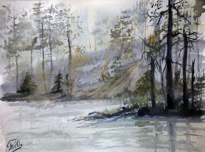 Landscape № 5 - Nina Polunina