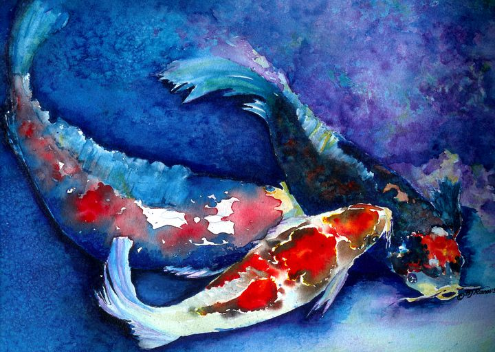 Coy Koi - Barbara J. Twist-Ranous