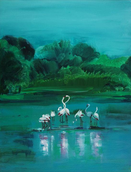 Flamingos - Boryana Borisova