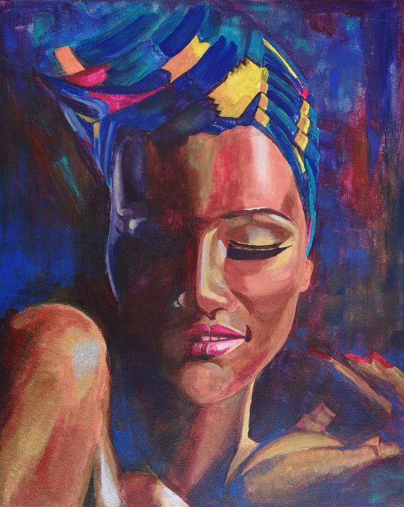 Afro woman - Boryana Borisova